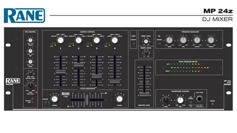 mp blogs the mp24 was rane s first dj mixer a world standard in