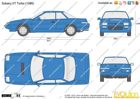 download car manuals pdf free 1986 subaru xt navigation system the blueprints com vector drawing subaru xt turbo
