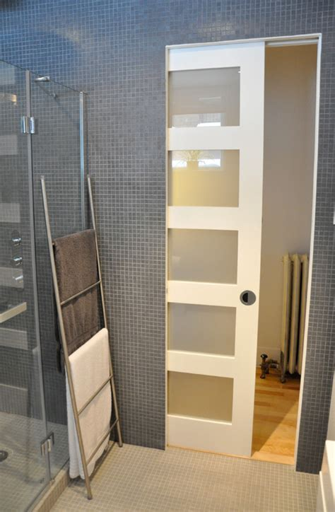 Bathroom Pocket Doors by The Pocket Door