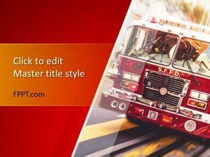 fire powerpoint template