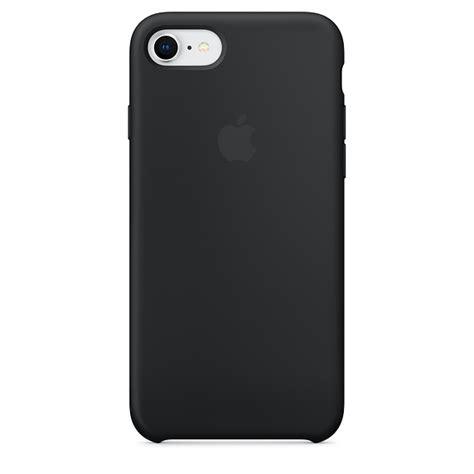 iphone   silicone case black apple