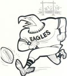philadelphia eagles 8x10 team photo card mascot vintage