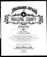 Paulding County Property Records Paulding County 1917 Ohio Historical Atlas
