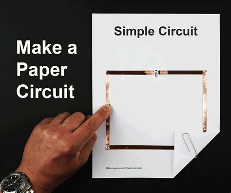 How To Make A Paper Phone That Slides - paper circuits for makerspaces makerspaces