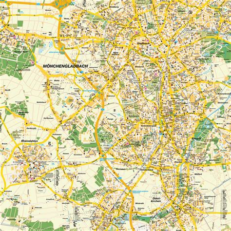 map m 246 nchengladbach nrw germany maps and directions at