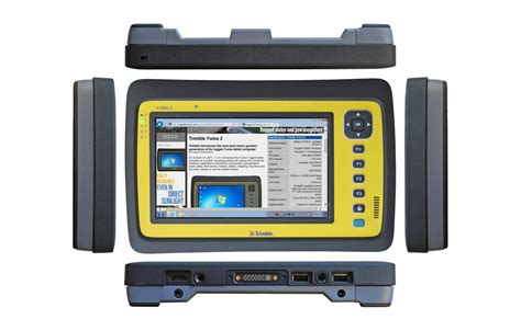 trimble rugged tablet rf data systems trimble yuma 2 rugged tablet computers