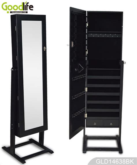 long mirror jewelry armoire jewelry armoire with full length mirror