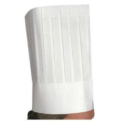 Make Paper Chef Hat - winco disposable 12 quot paper chef s hat 10 count pack