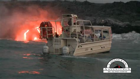are lava boat tours safe lava tour boat lavakai youtube