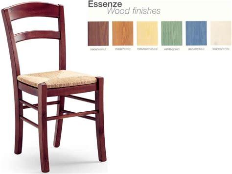 sedute in paglia sedia rustica in pino massello con seduta in paglia