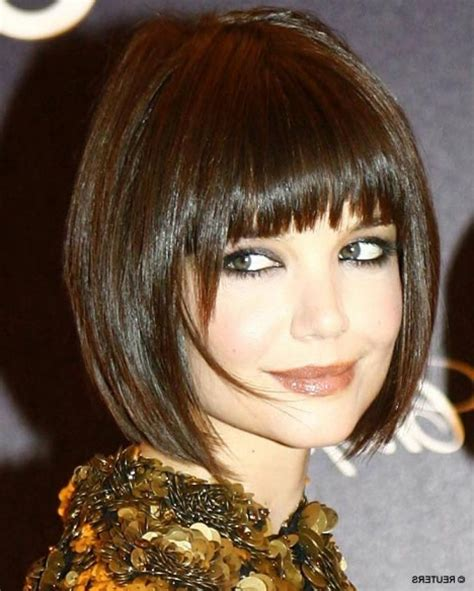 aline haircut for cubby faces with longhair long aline bob with side bangs long a line haircut with