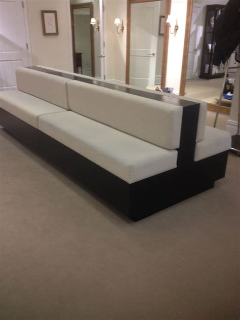 two sided sofa custom made two sided sofa by bmc millwork company inc
