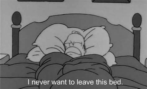 homer in bed the simpsons sleep quotes quotesgram