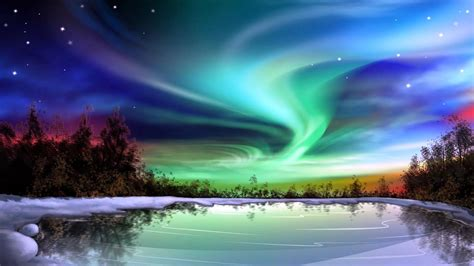 Northern Lights Painting Art Now And Then The Ultimate Artist