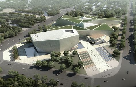 museum design proposal gallery of huaihua theater and exhibition center proposal