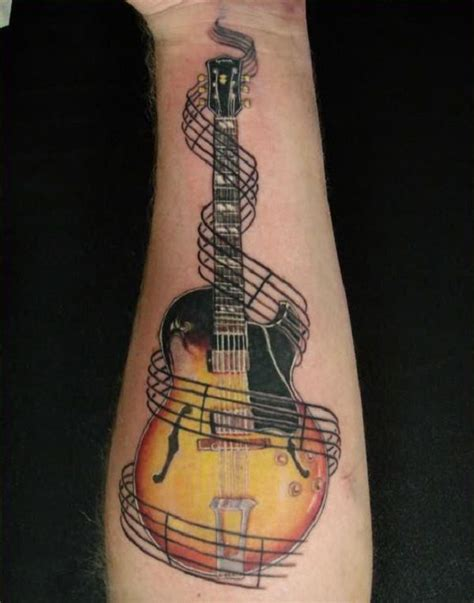 guitar tattoo 60 inspirational guitar tattoos guitar