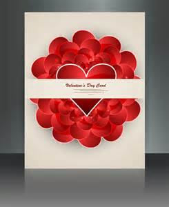 adobe illustrator s day card template valentines day card reflection brochure template