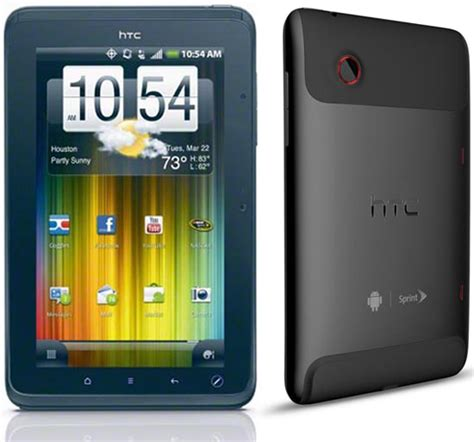 Htc Evo View 4g Android Tablet by Htc Evo View 4g Tablet Available Through Sprint