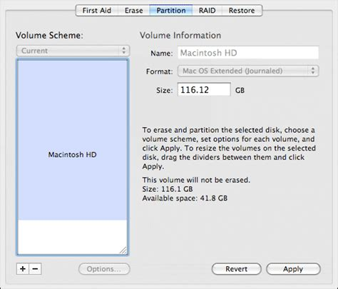 Desk Utility by Resize Partitions In Mac Os X With Disk Utility