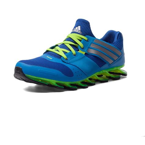 sports shoe uk adidas springblade solyce mens blue running road sports