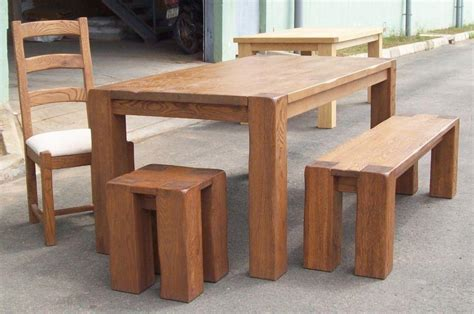 Oak Benches For Dining Tables Oak Dining Tables Chairs For Pubs Restaurants Bars Brown Black