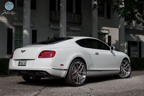 bentley wheels on bentley continental gt on 22 inch modulare wheels
