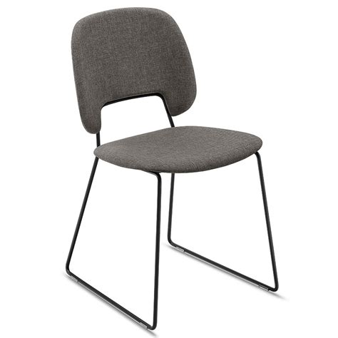 black brown dining chairs trajan black brown sled chair eurway furniture