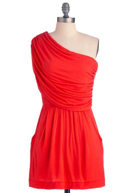 I M Yours Dress i m your venus dress in coral mod retro vintage dresses modcloth