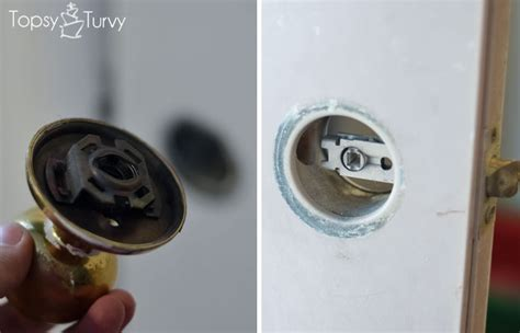 How To Take Out A Door Knob by How To Change Out Your Door Knobs Ashlee