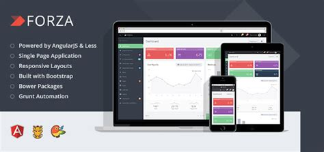 Forza V1 2 1 Full Featured Admin App Html Template Coupon App Template