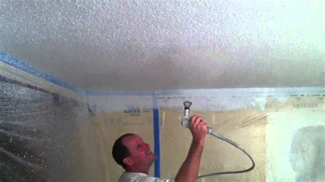 spray painter for ceiling spray paint ceilings step by step https