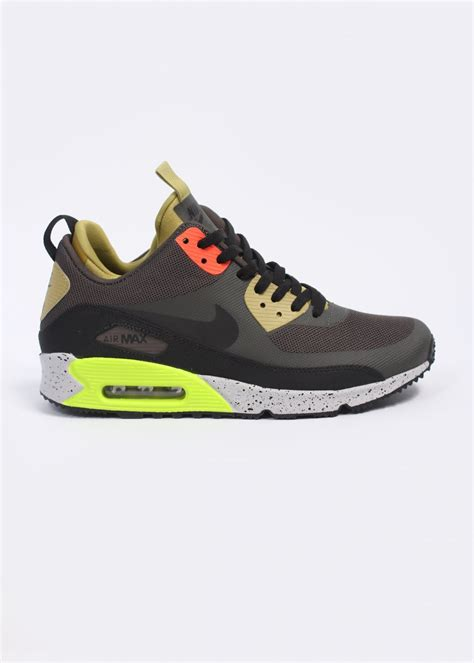 nike air max sneaker boot nike air max 90 sneaker boot trainers grey