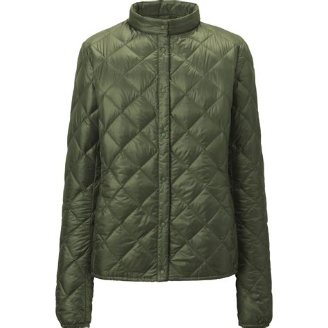 Green Quilted Jacket by Uniqlo Ultra Light Compact Quilted Jacket In