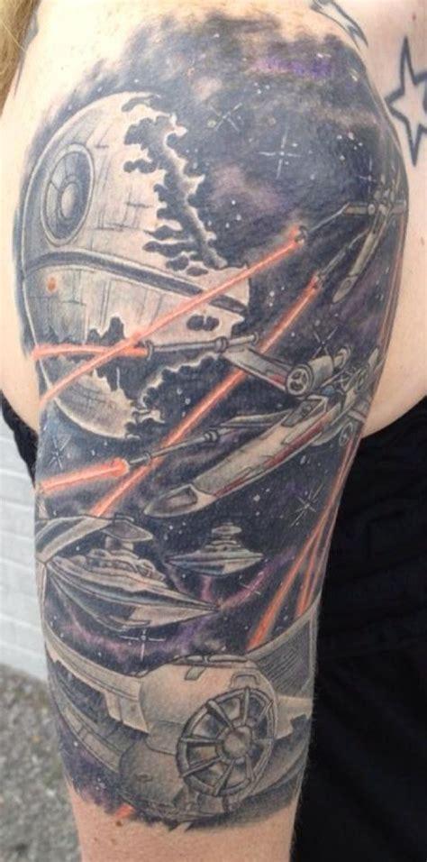 star wars tattoo sleeve wars tattoos ideas
