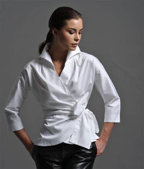 White Berry Lblouse Original abigail white shirt by the shirt company notonthehighstreet