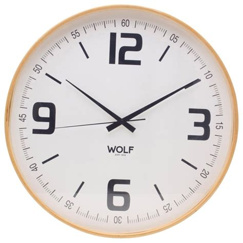 large modern wall clock large wooden wall clock white modern clocks by wolf