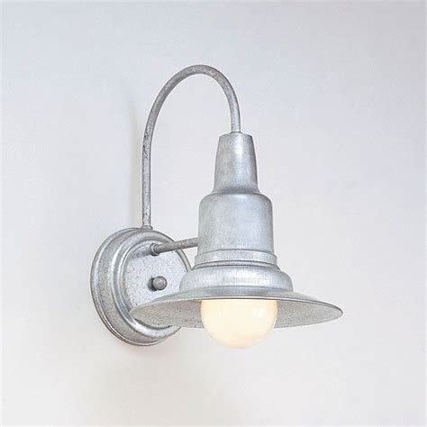 Galvanized Wall Sconce Galvanized Wall Sconce Galvanized One Light Outdoor Wall Sconce Hi Lite Wall Mounted Outdoor
