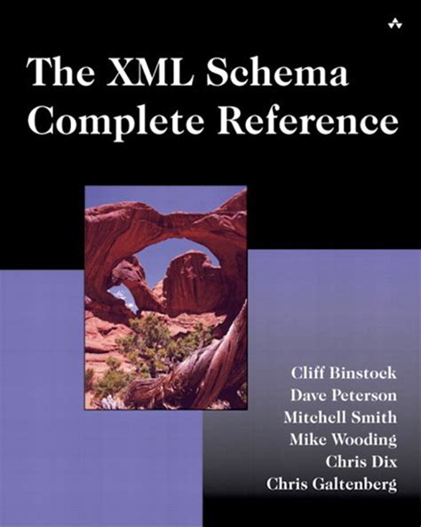 xml schema reference the xml schema complete reference book