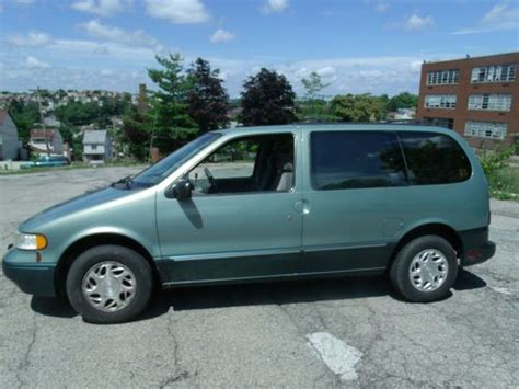 automobile air conditioning service 1998 mercury villager user handbook sell used 1997 mercury villager nissan quest in pittsburgh pennsylvania united states