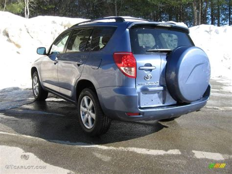 2007 Toyota Rav4 Limited 2007 Pacific Blue Metallic Toyota Rav4 Limited 4wd