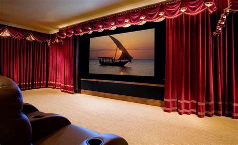 marc pridmore designs custom home theater drapes roman