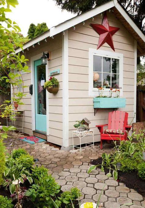 cabane de jardin enfant en  projets  faire soi meme