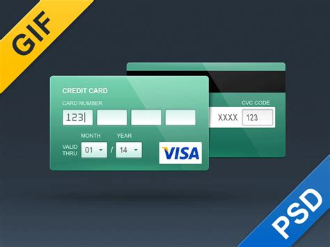 credit card size psd template free credit card psd flat and contour free psd vector icons
