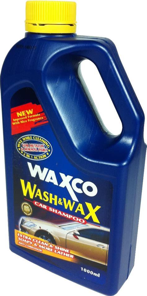 Waxco 2k waxco 清洗和打蜡香波 1000ml 汽车护理用品件 家具装修 必找华美