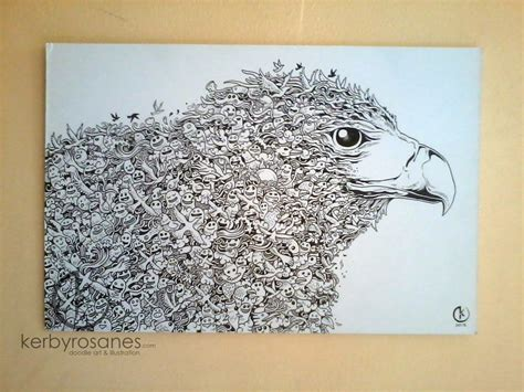 doodle name rj doodle save the philippine eagle by kerbyrosanes on
