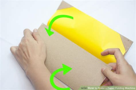 Diy Paper Folding Machine - how to make a paper folding machine 11 steps with pictures