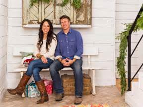 how to get on hgtv fixer fixer upper hosts chip and joanna gaines holiday house