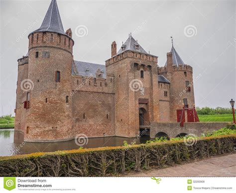 netherlands castles map sky muiderslot castle in the netherlands royalty