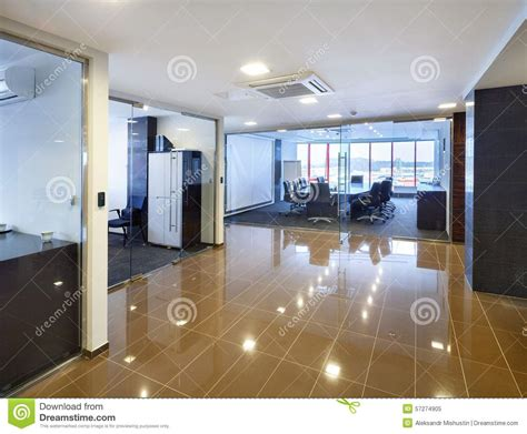 Modern Business Interiors by Office Interior Stock Photo Image 57274905