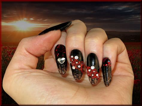 Faux Ongles En Gel by Ongle En Gel Et Noir Fashion Designs
